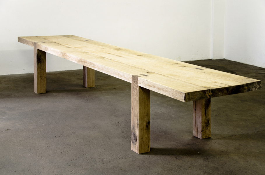 ... Table, Bench Ideas, Reclaimed Wood Tables, Mudge Bench, Wooden Table